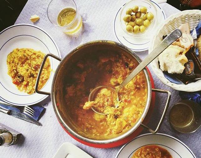 Comer en Tarifa - Arroces de La Pescadería
