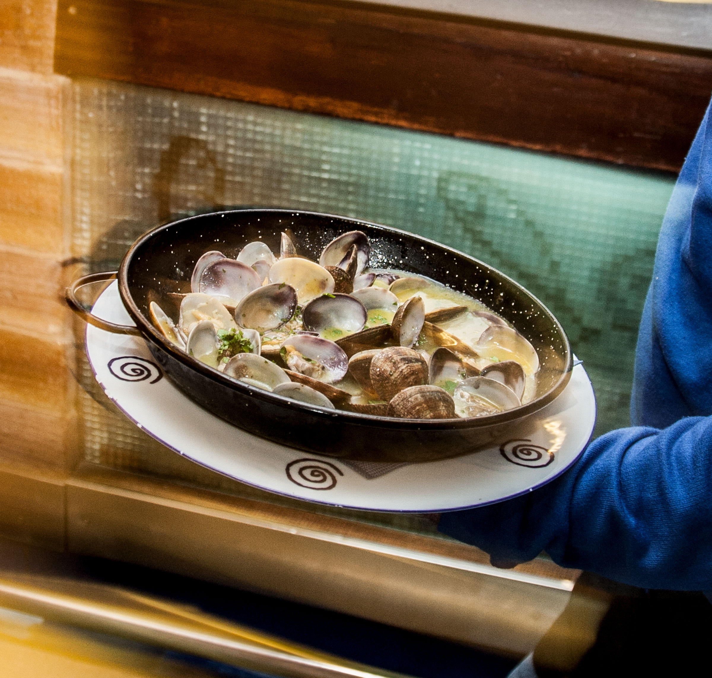Comer en Tarifa - Almejas al estilo de La Pescaderia