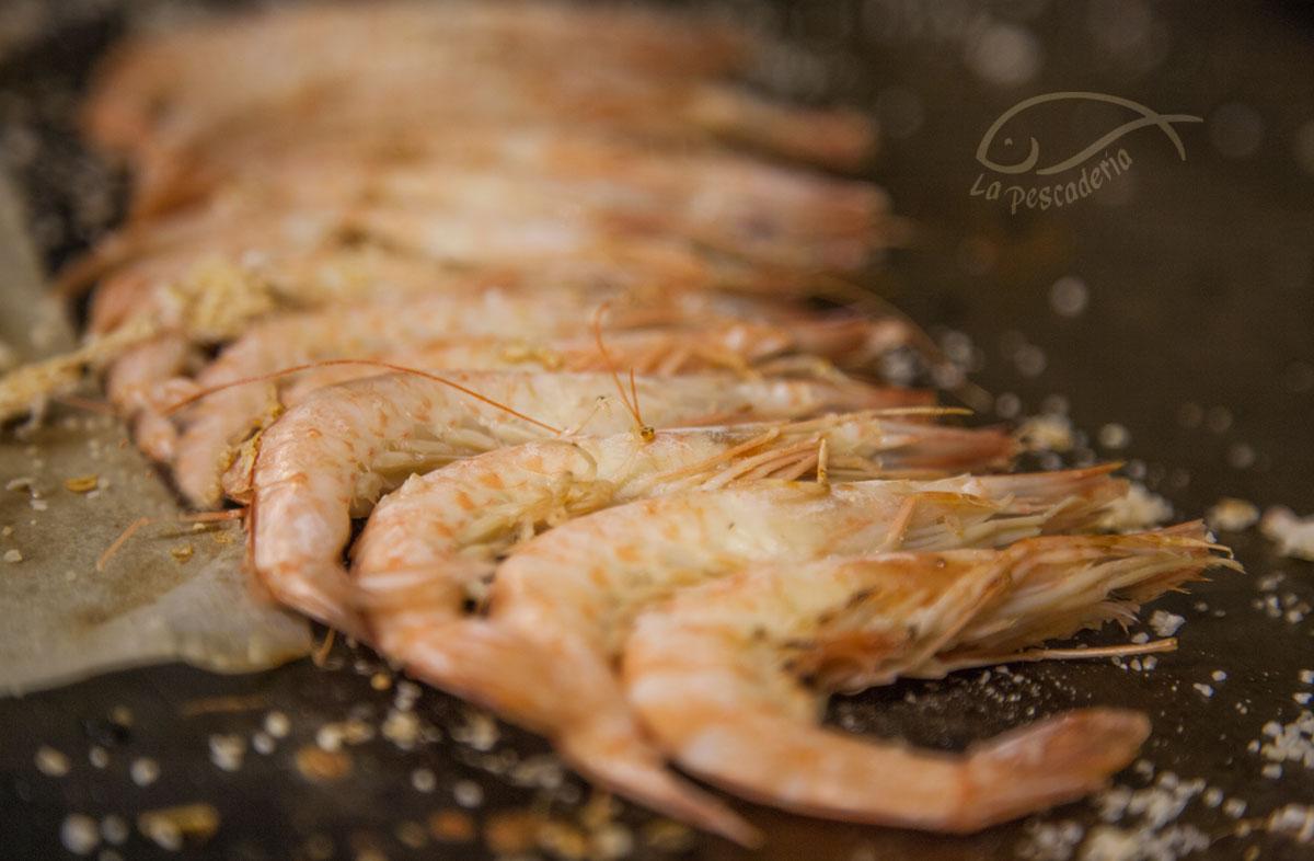 La Pescaderia menu - langostinos tigre plancha