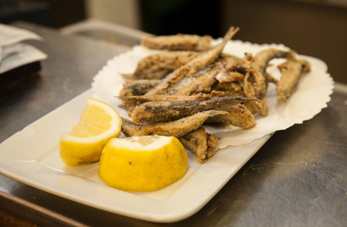 Comer en Tarifa - Boquerones de La Pescadería