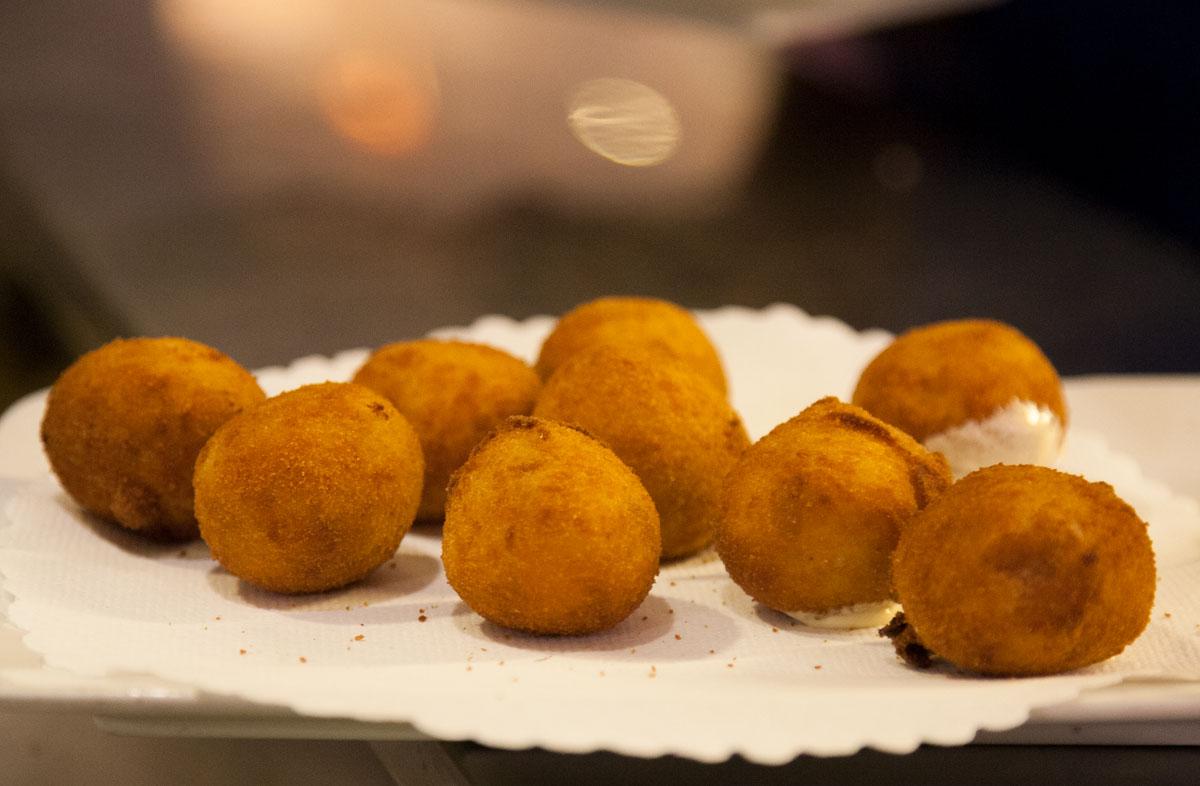 Comer en Tarifa - Croquetas de Pescado de La Pescadería